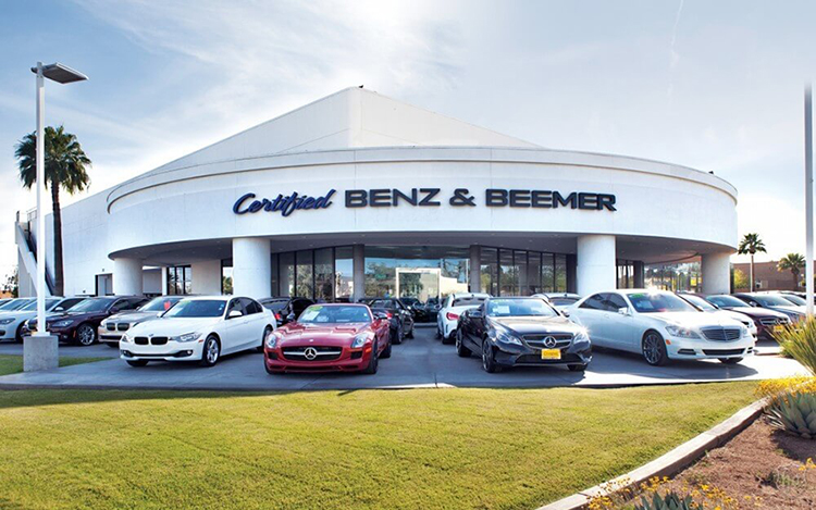 Certified Benz Beemer Luxury Pre Owned Dealership In Scottsdale Az