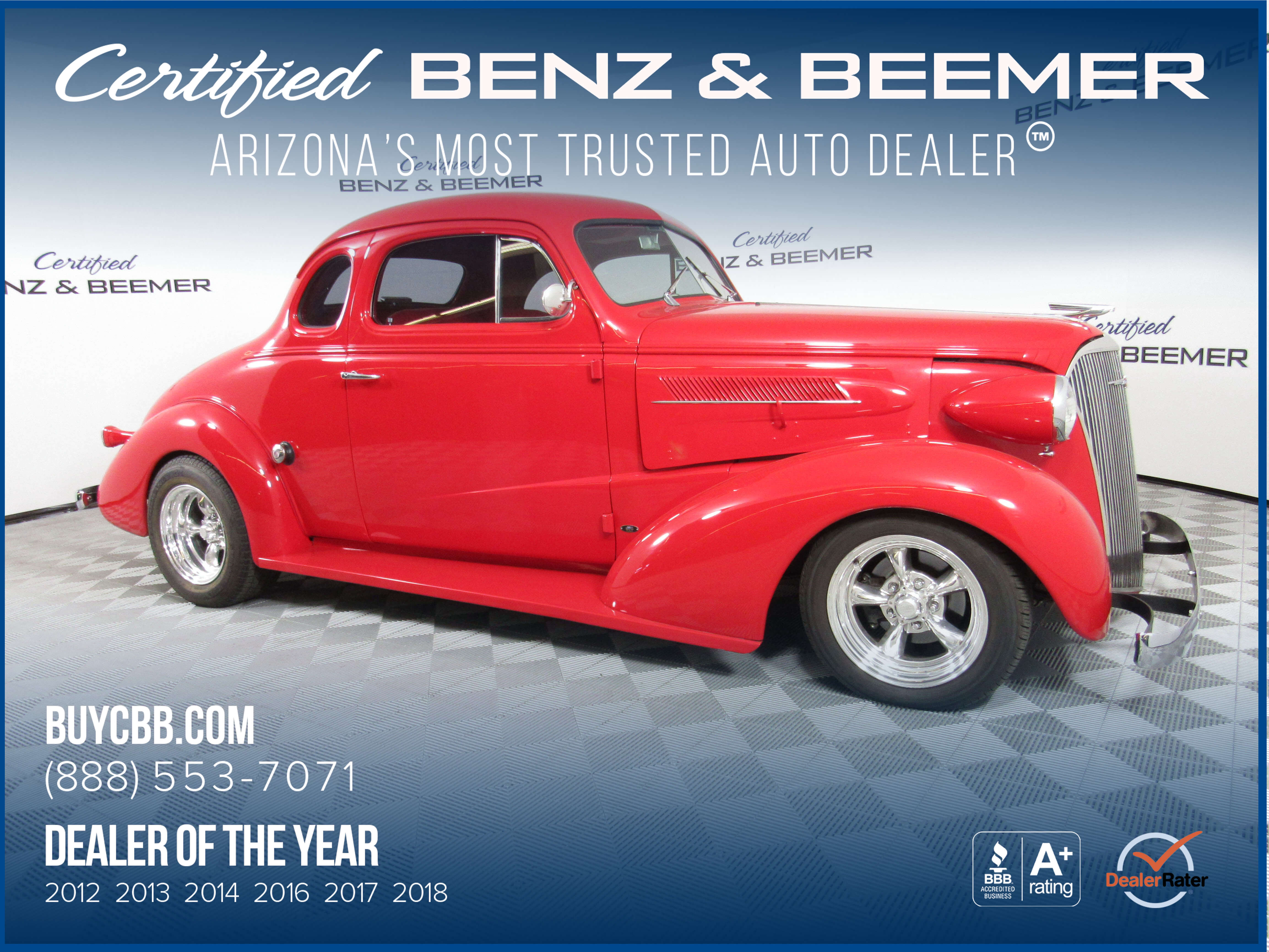 Certified Benz & Beemer - Used 1938 Chevrolet Coupe